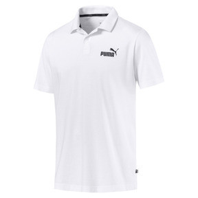Thumbnail 1 of Essentials Men's Jersey Polo, Puma White, medium