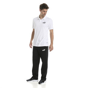 Thumbnail 5 of Essentials Men's Jersey Polo, Puma White, medium