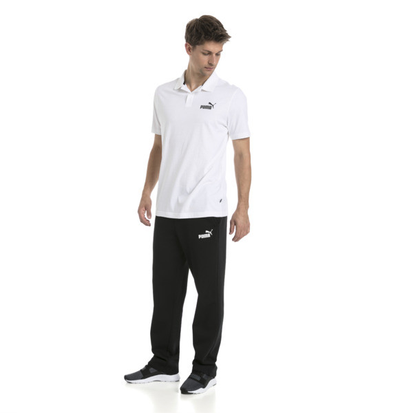Essential - jersey polo voor mannen, Puma White, large