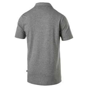Thumbnail 5 van Essential - jersey polo voor mannen, Medium Gray Heather, medium