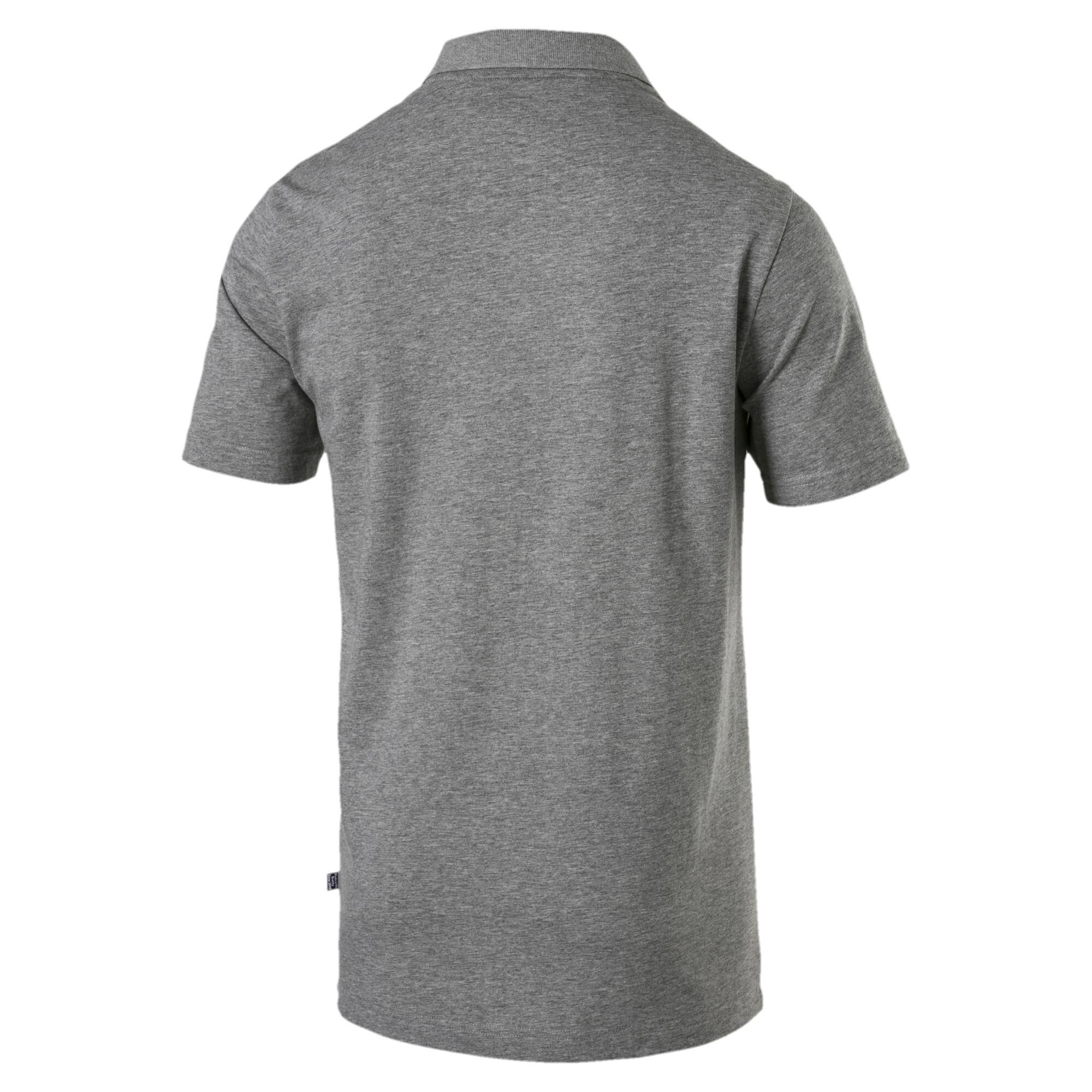 PUMA-Essentials-Men-039-s-Jersey-Polo-Men-Polo-Basics thumbnail 6