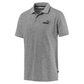 Thumbnail 4 van Essential - jersey polo voor mannen, Medium Gray Heather, medium