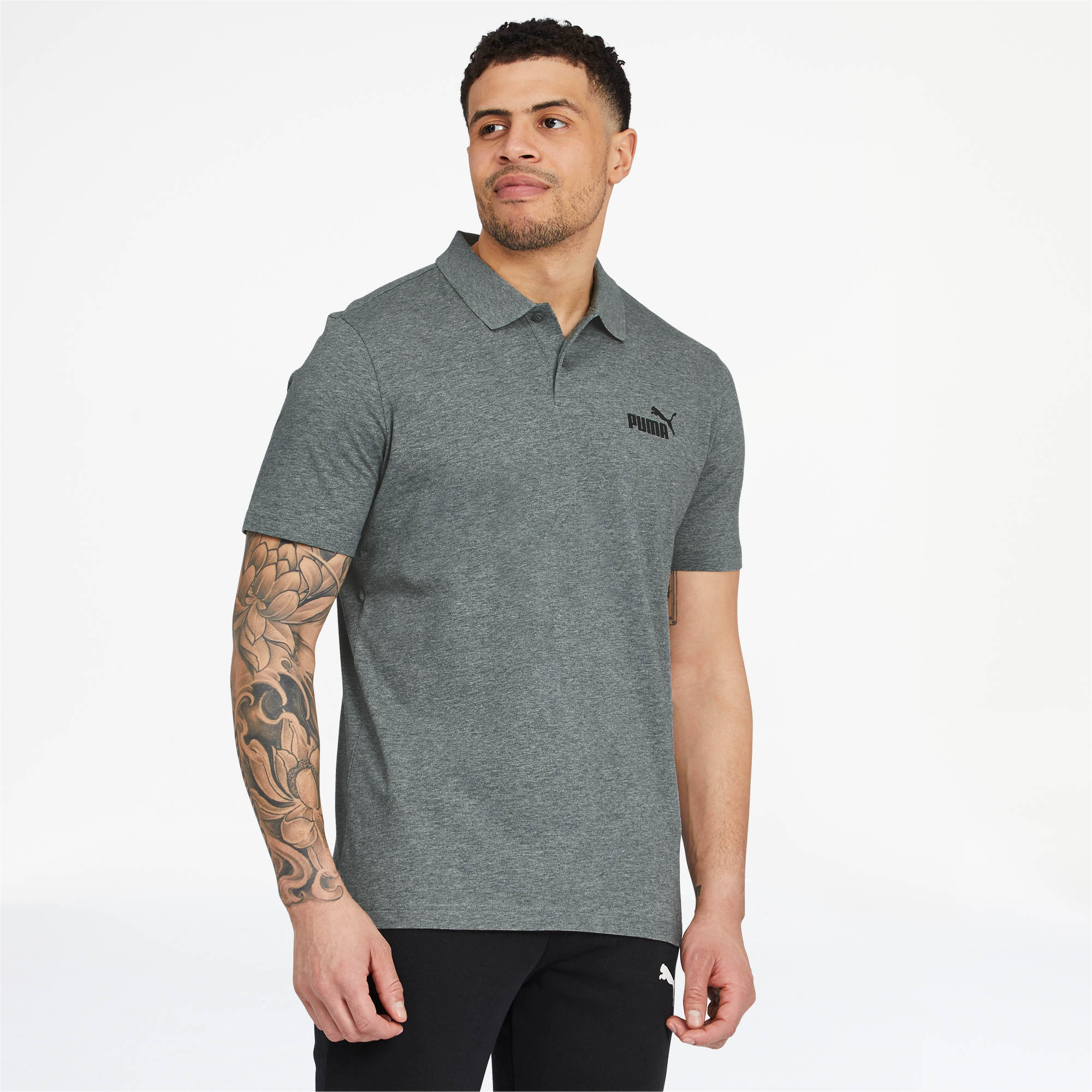 PUMA-Essentials-Men-039-s-Jersey-Polo-Men-Polo-Basics thumbnail 7