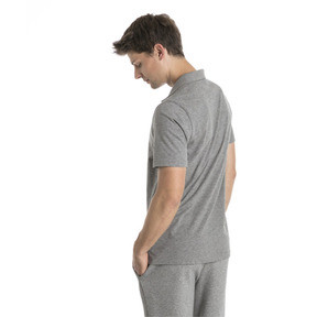 Thumbnail 2 van Essential - jersey polo voor mannen, Medium Gray Heather, medium