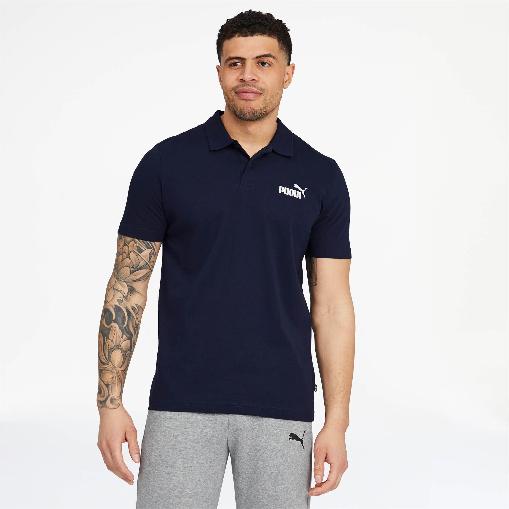 PUMA-Essentials-Men-039-s-Jersey-Polo-Men-Polo-Basics thumbnail 11