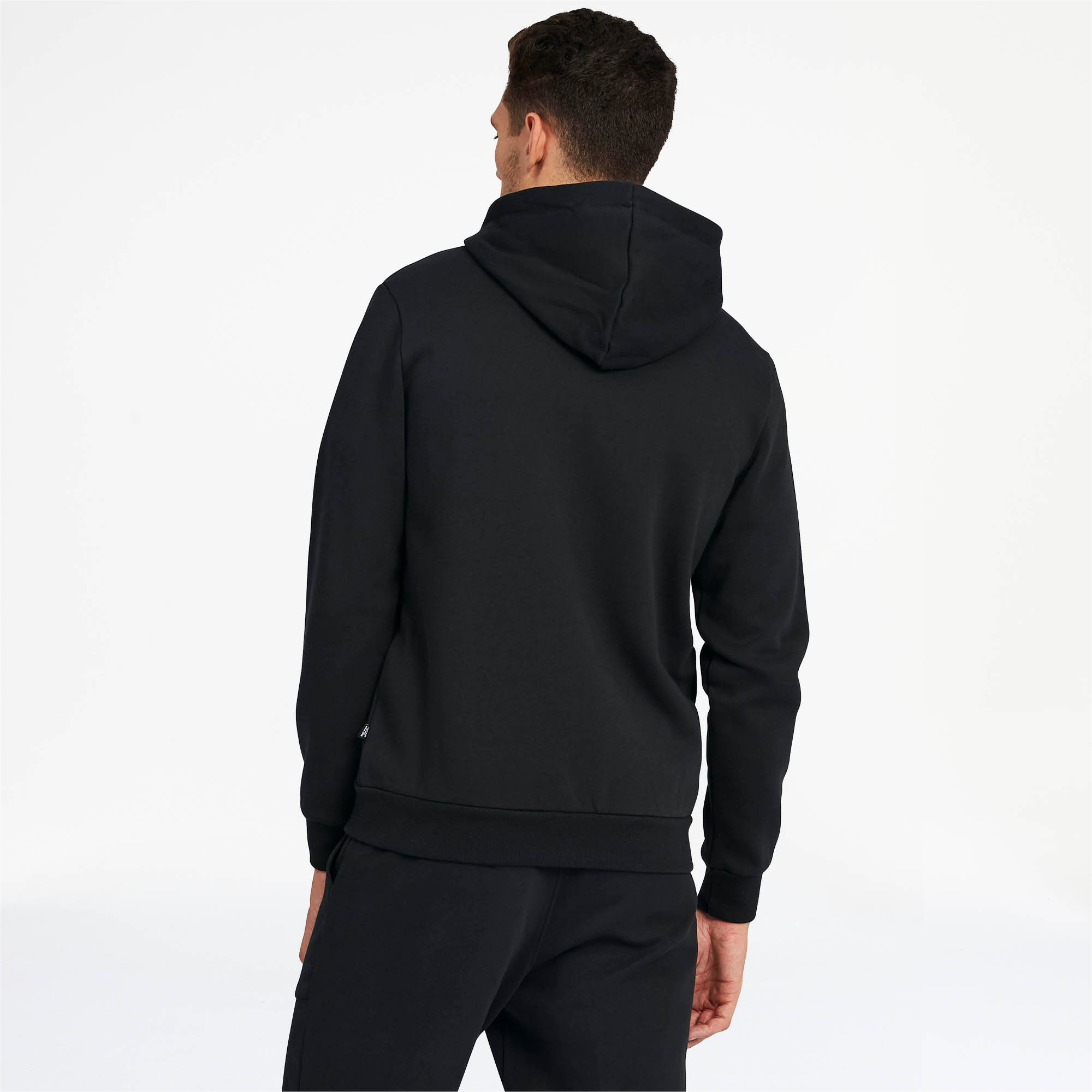 PUMA-Essentials-Men-039-s-Hooded-Fleece-Jacket-Men-Sweat-Basics thumbnail 5