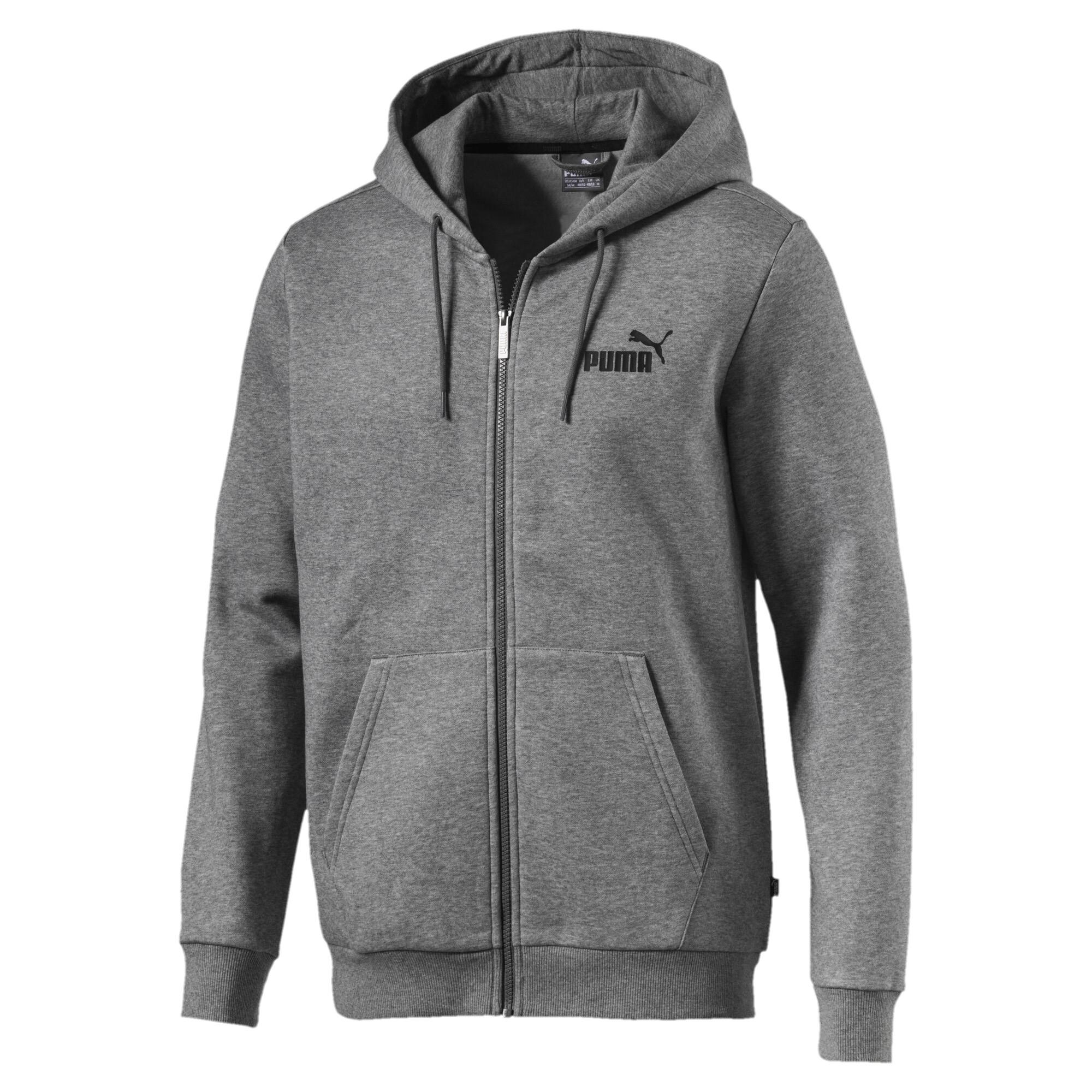 Image Puma Essentials Full Zip Fleece Men's Hoodie #2