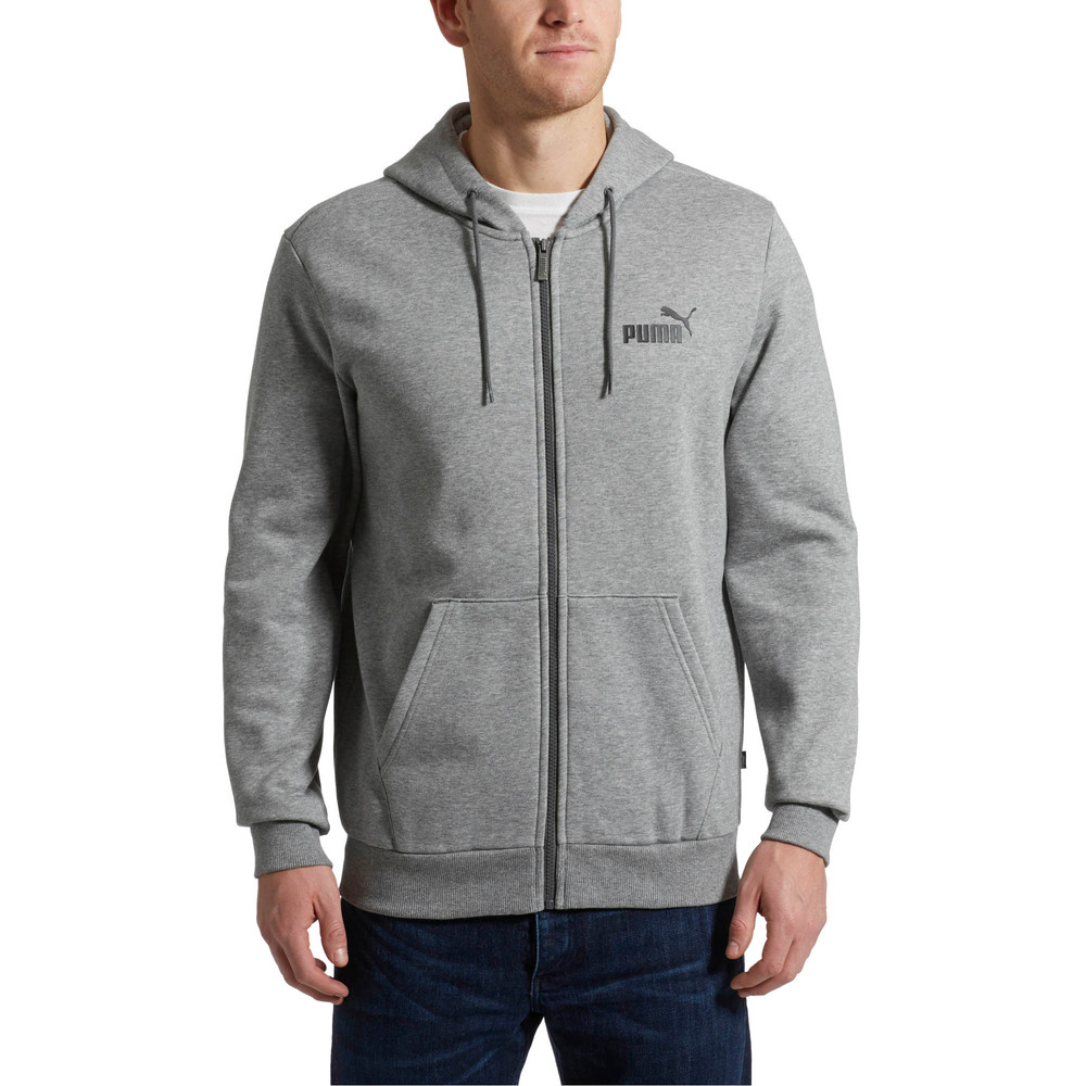 Image PUMA Essentials Full Zip Fleece Men's Hoodie #2