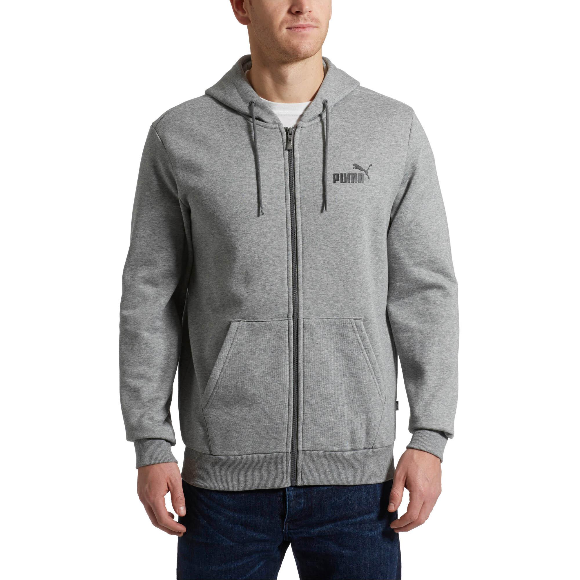 Image Puma Essentials Full Zip Fleece Men's Hoodie #1