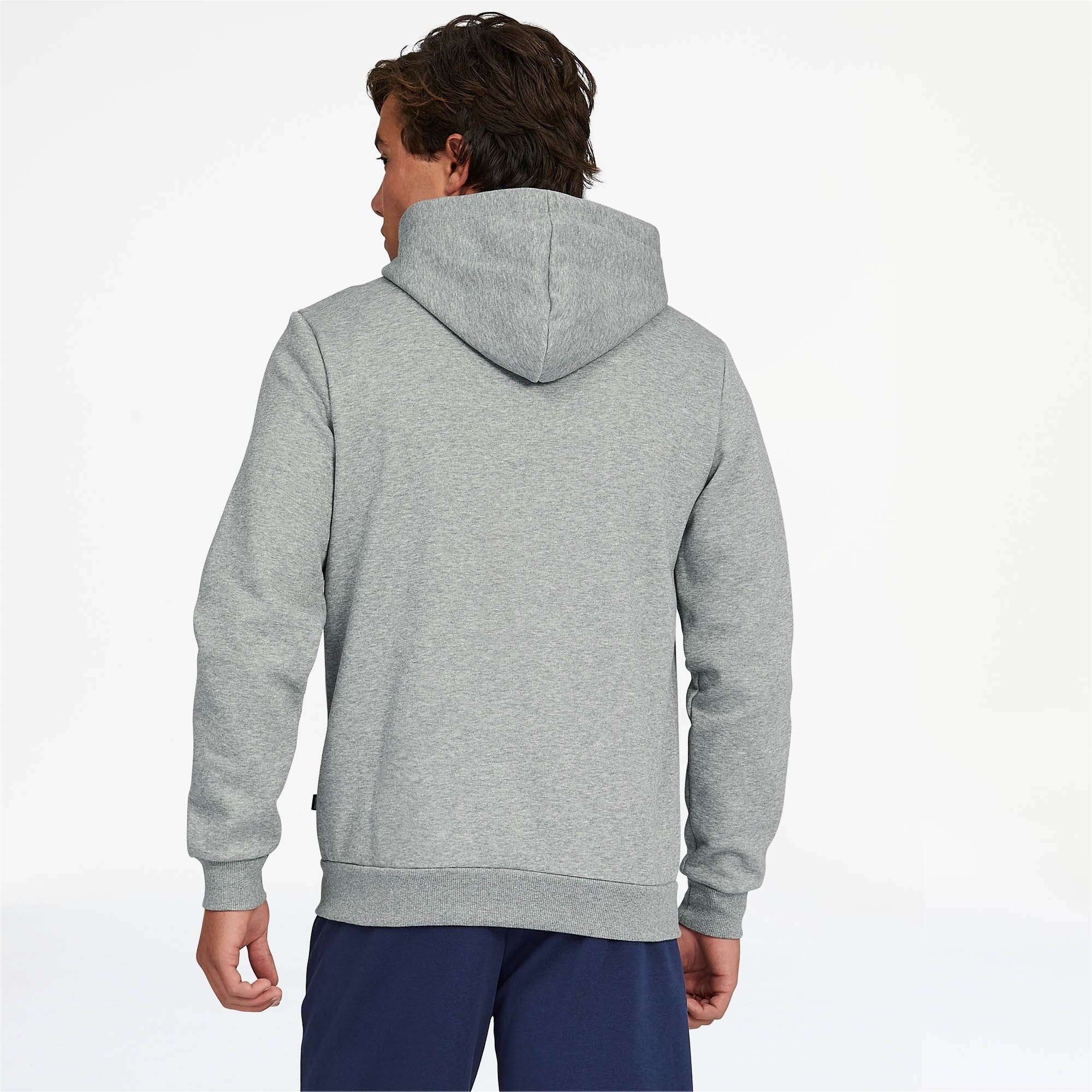 PUMA-Essentials-Men-039-s-Hooded-Fleece-Jacket-Men-Sweat-Basics thumbnail 11