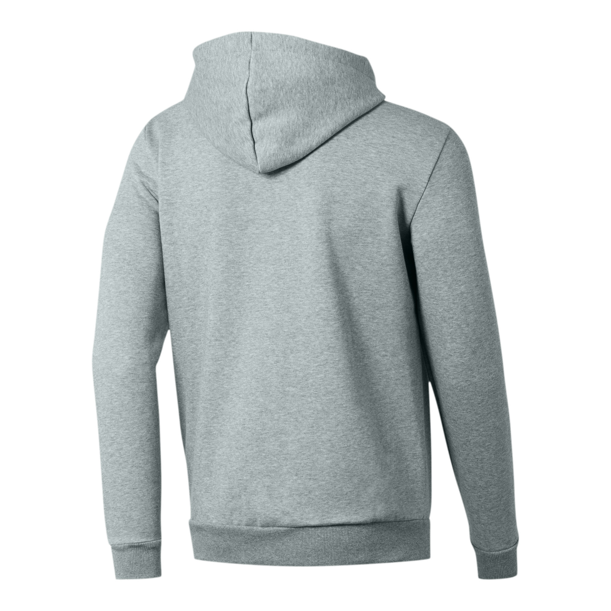 PUMA-Essentials-Men-039-s-Hooded-Fleece-Jacket-Men-Sweat-Basics thumbnail 19