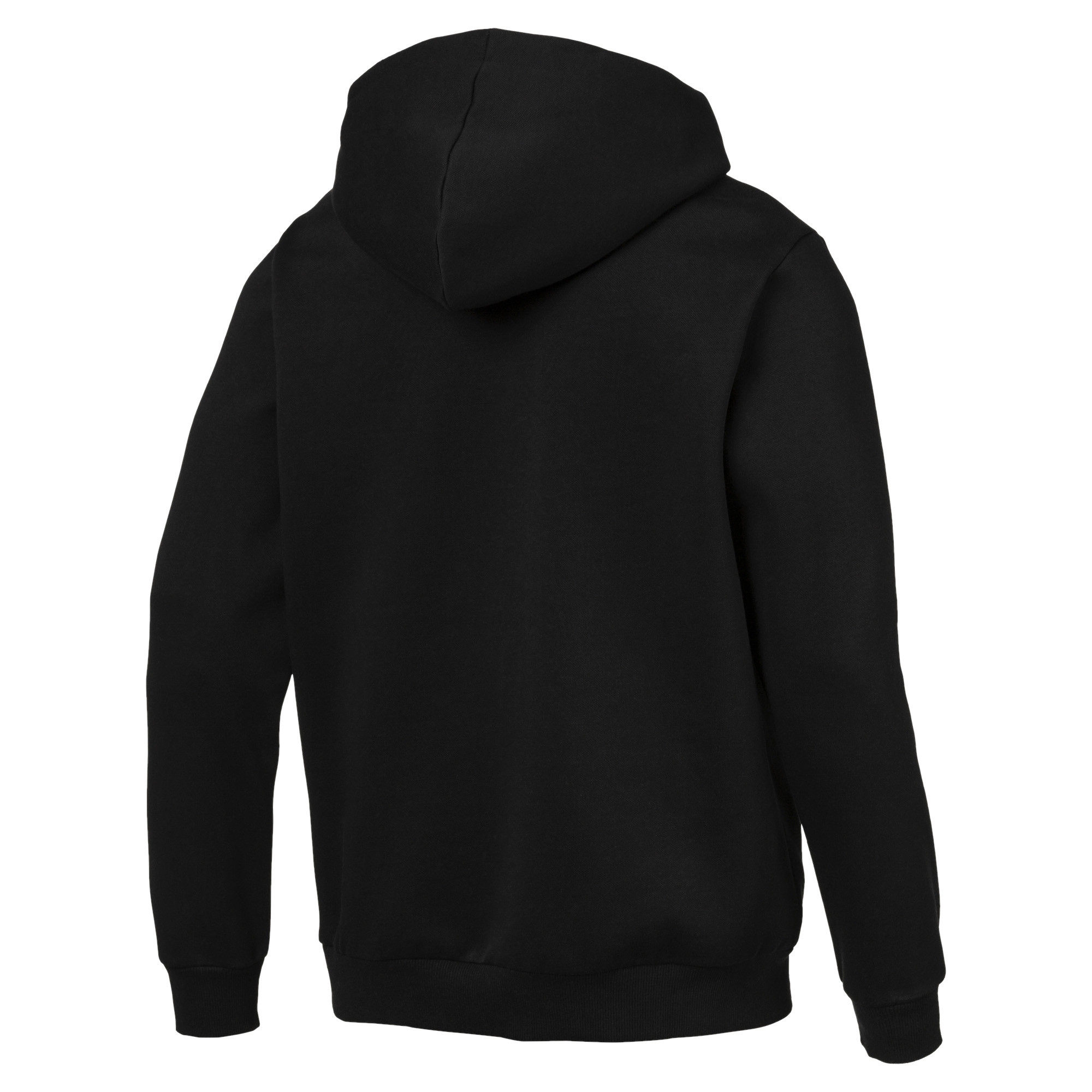 PUMA-Essentials-Men-039-s-Hooded-Fleece-Logo-Jacket-Men-Sweat-Basics thumbnail 3