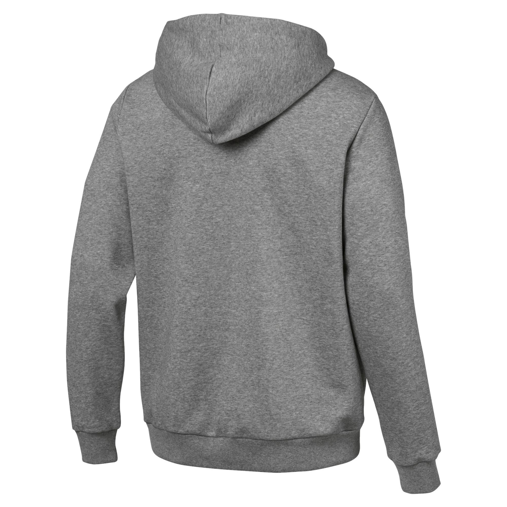 Image Puma Essentials Fleece Hooded Full Zip Men's Sweat Jacket #3