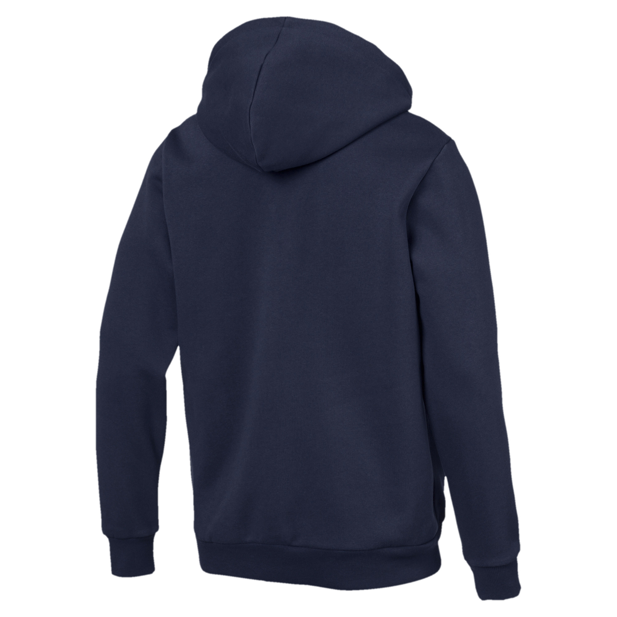 PUMA-Essentials-Men-039-s-Hooded-Fleece-Logo-Jacket-Men-Sweat-Basics thumbnail 13