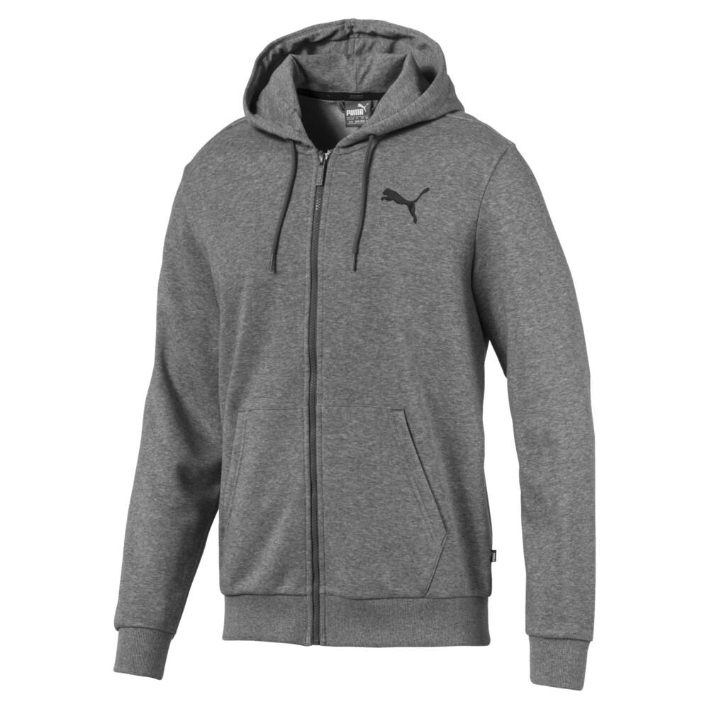 Изображение Puma Толстовка Essentials Hooded Jacket #1