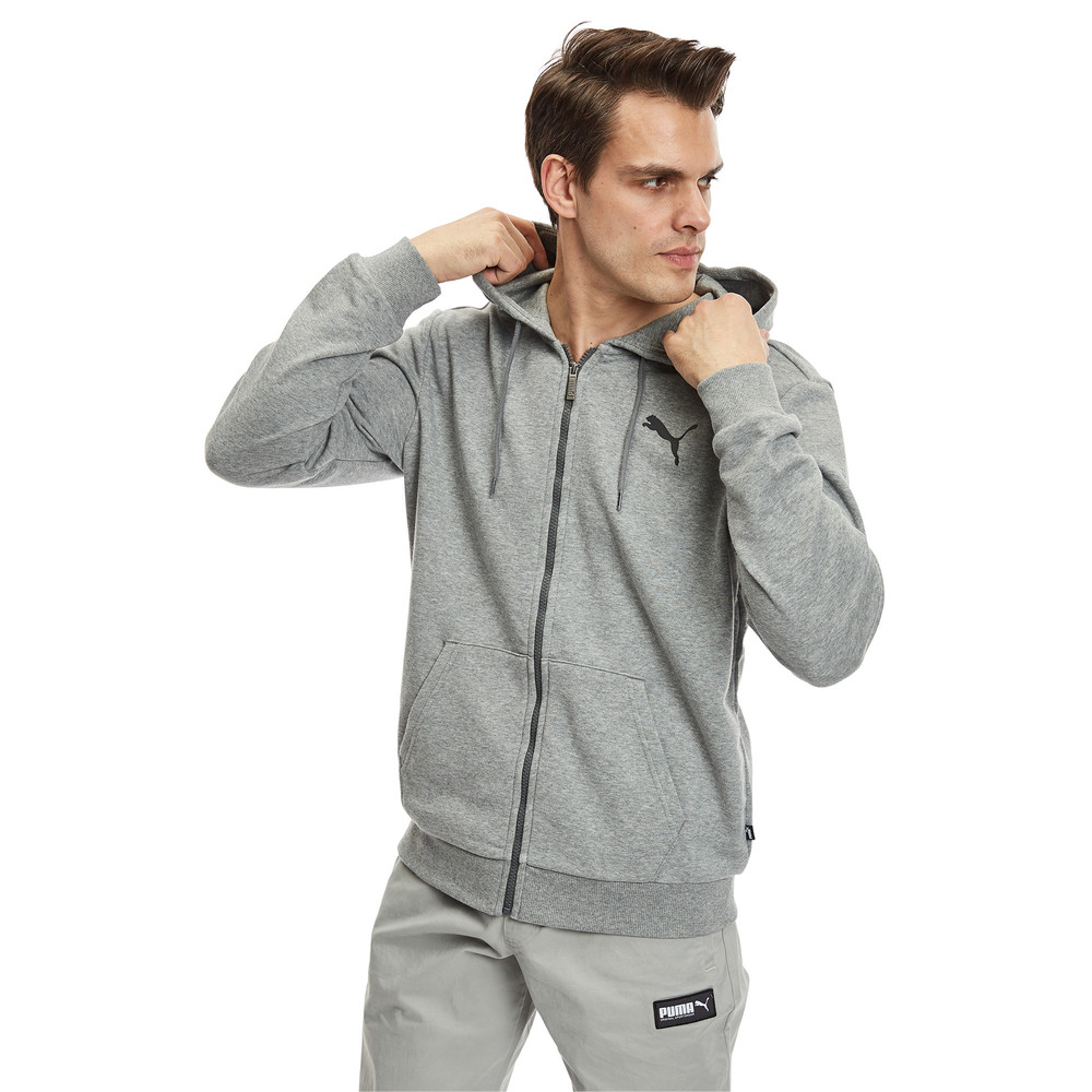 Изображение Puma Толстовка Essentials Hooded Jacket #1