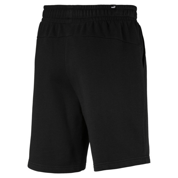 "Essentials 10"" Men's Sweat Shorts, Puma Black, large"