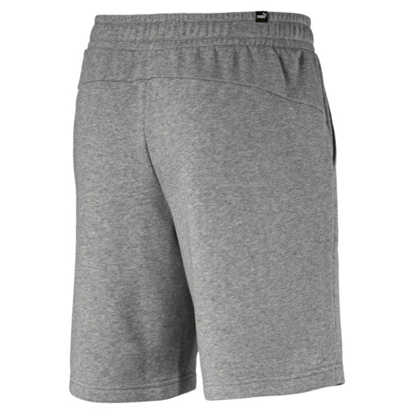 "Essentials 10"" Men's Sweat Shorts, Medium Gray Heather, large"