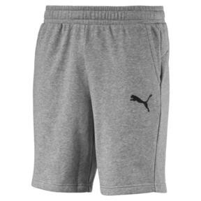 Thumbnail 1 of Essentials Men's Sweat Shorts, Medium Gray Heather-Cat, medium