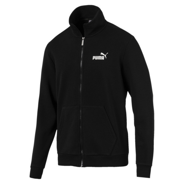 Essentials Men's Track Jacket, Puma Black, large
