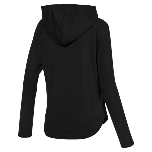 Women's Active Hoodie, Puma Black, large