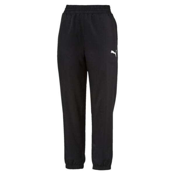 Women's Active Woven Pants, Puma Black, large