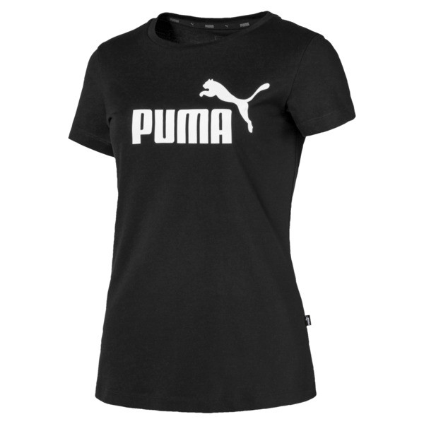 Essentials Women's Tee, Cotton Black, large