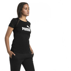 Thumbnail 1 of Essentials Damen T-Shirt, Cotton Black, medium