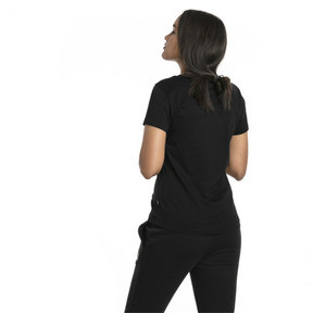Thumbnail 2 of Essentials Women's Tee, Cotton Black, medium