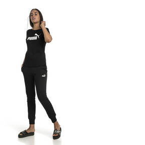 Thumbnail 3 of Essentials Women's Tee, Cotton Black, medium