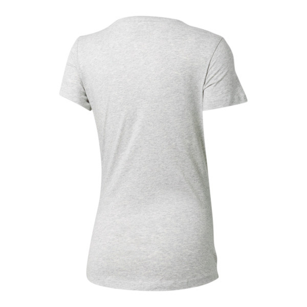 Essentials Women's Tee, Light Gray Heather, large