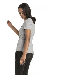 Thumbnail 2 of Essentials Women's Tee, Light Gray Heather, medium