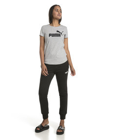 Thumbnail 3 of Essentials Women's Tee, Light Gray Heather, medium