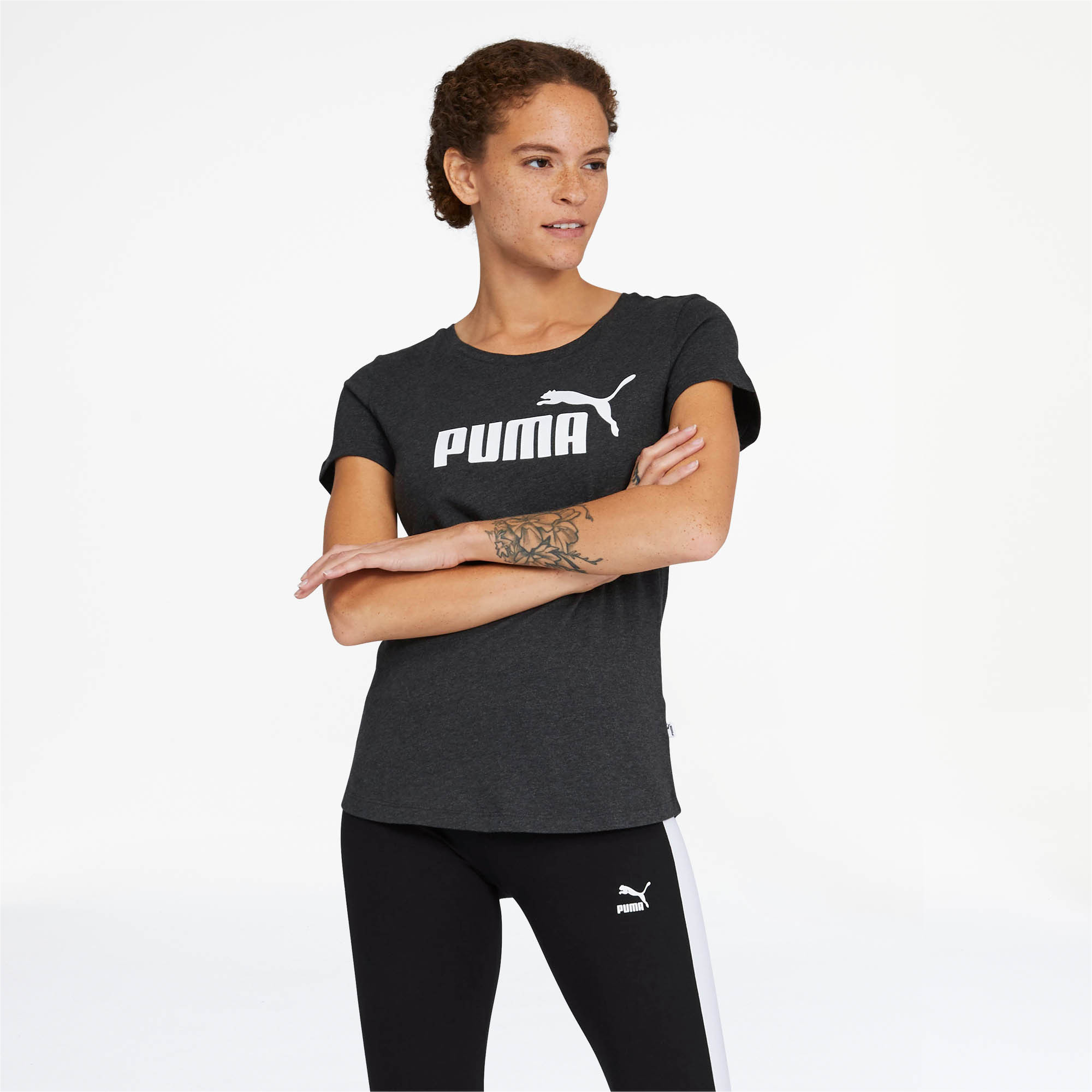 PUMA-Essentials-Women-039-s-Tee-Women-Tee-Basics thumbnail 7