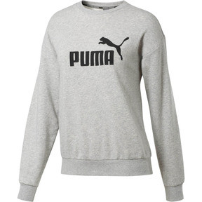 Thumbnail 1 of Essentials Women's Crewneck Sweashirt, Light Gray Heather, medium