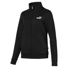 Essentials Damen Fleece Trainingsjacke