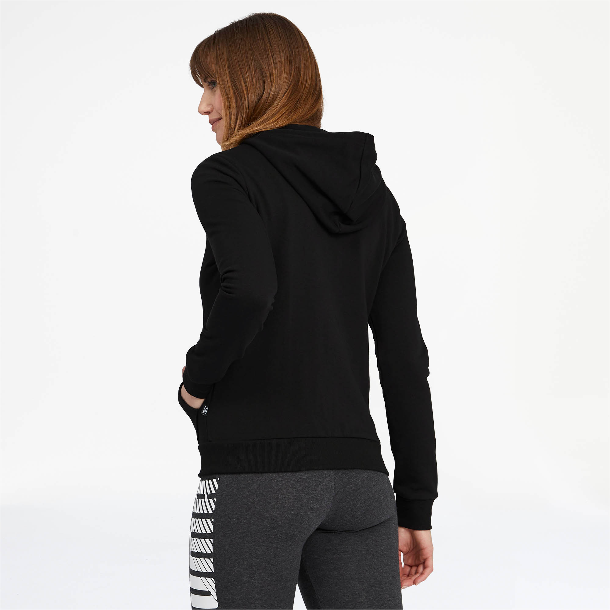 PUMA-Women-039-s-Essentials-Hooded-Jacket thumbnail 8