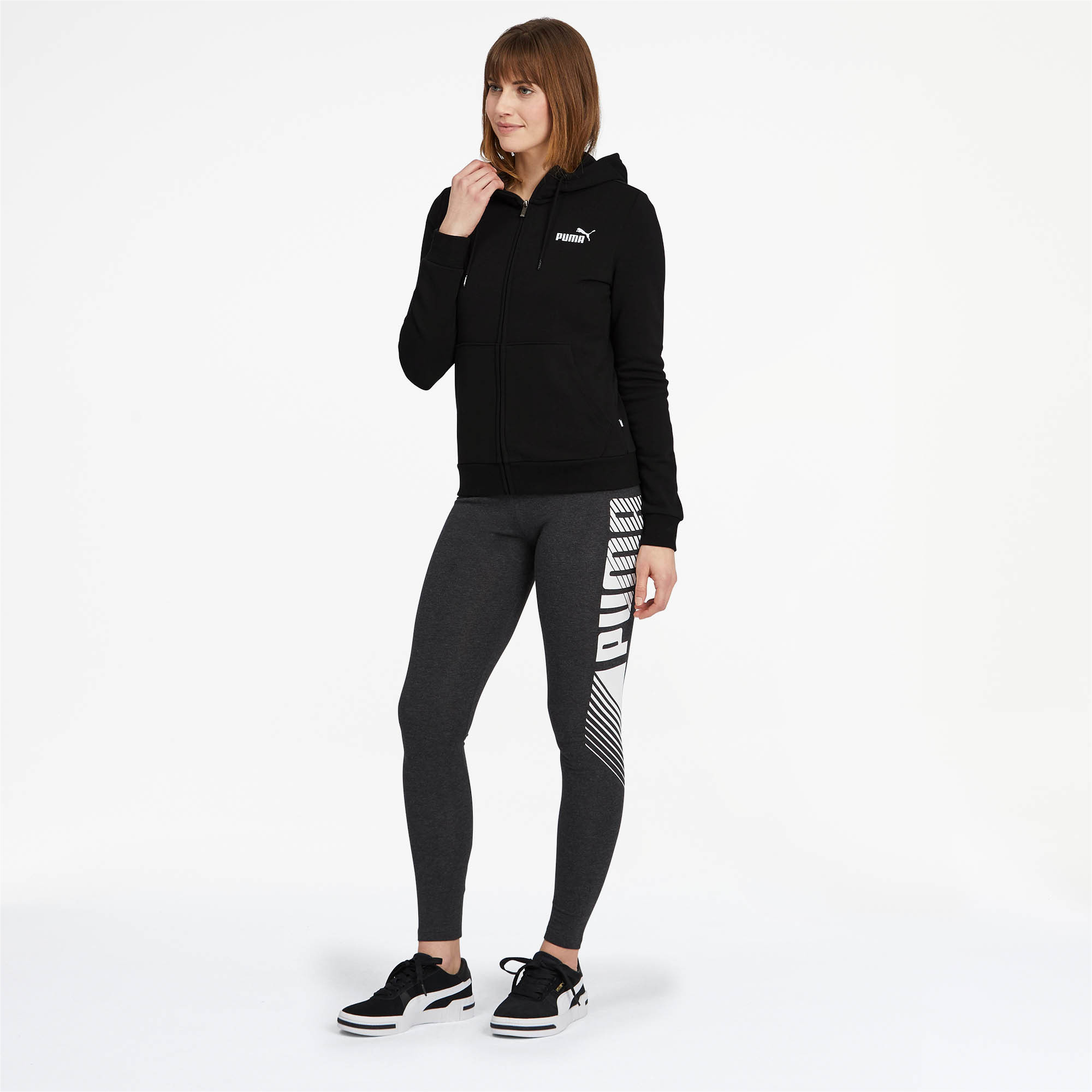 PUMA-Women-039-s-Essentials-Hooded-Jacket thumbnail 9