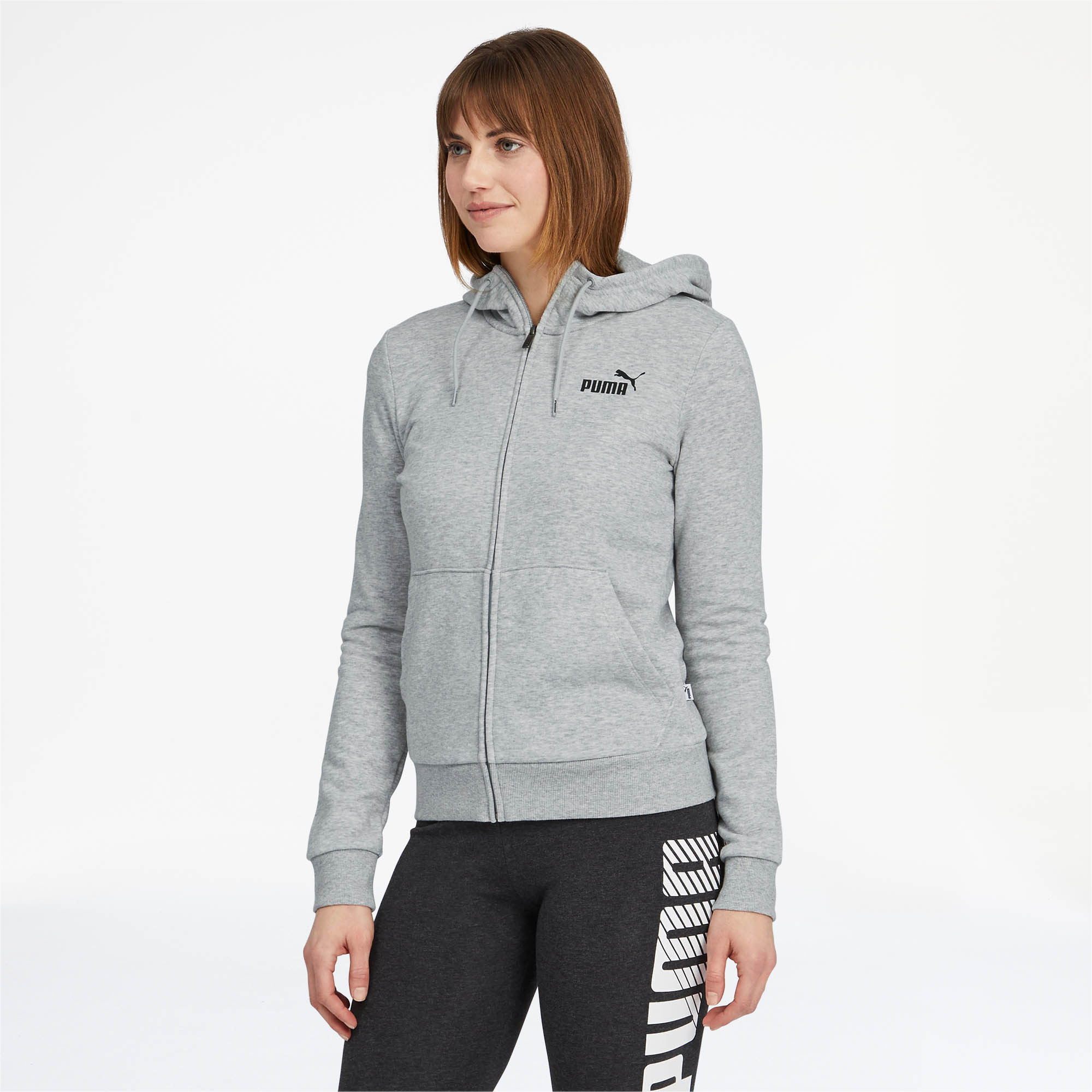 PUMA-Women-039-s-Essentials-Hooded-Jacket thumbnail 15