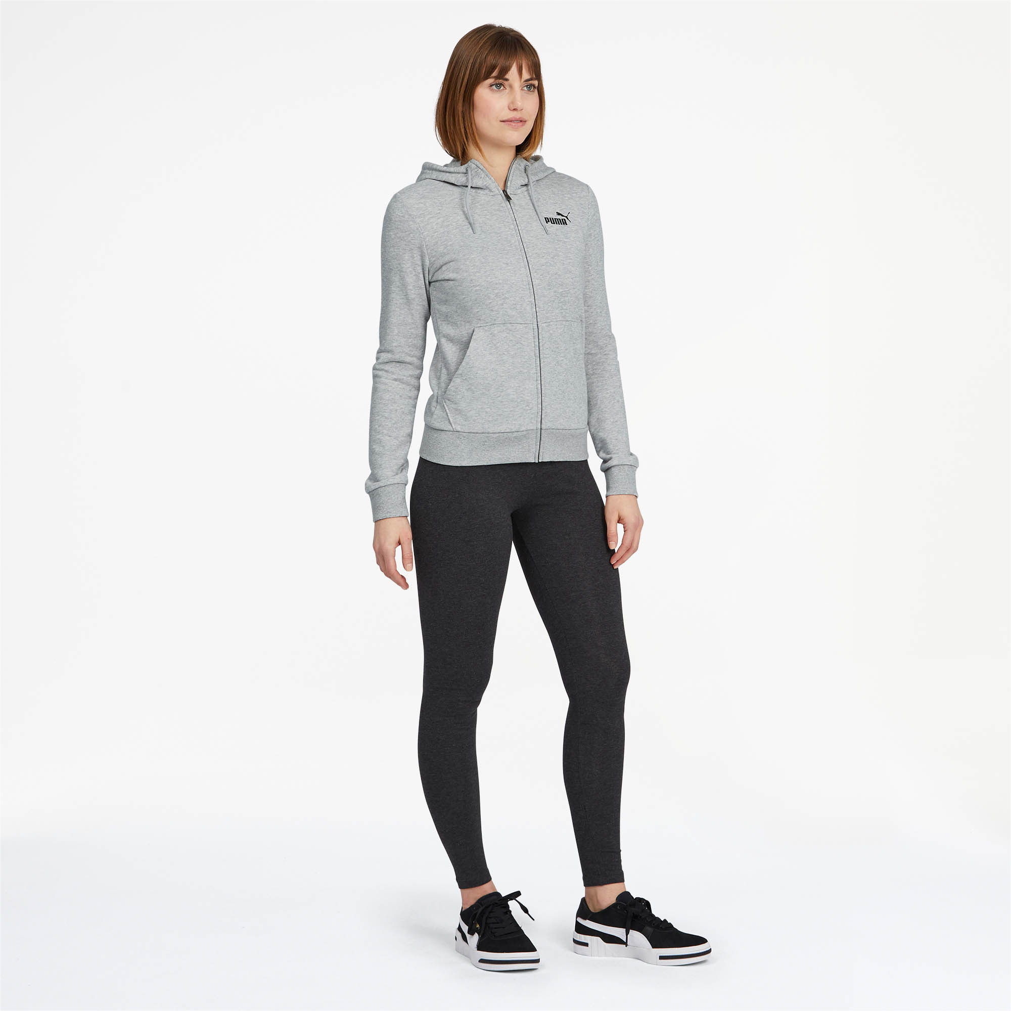 PUMA-Women-039-s-Essentials-Hooded-Jacket thumbnail 17