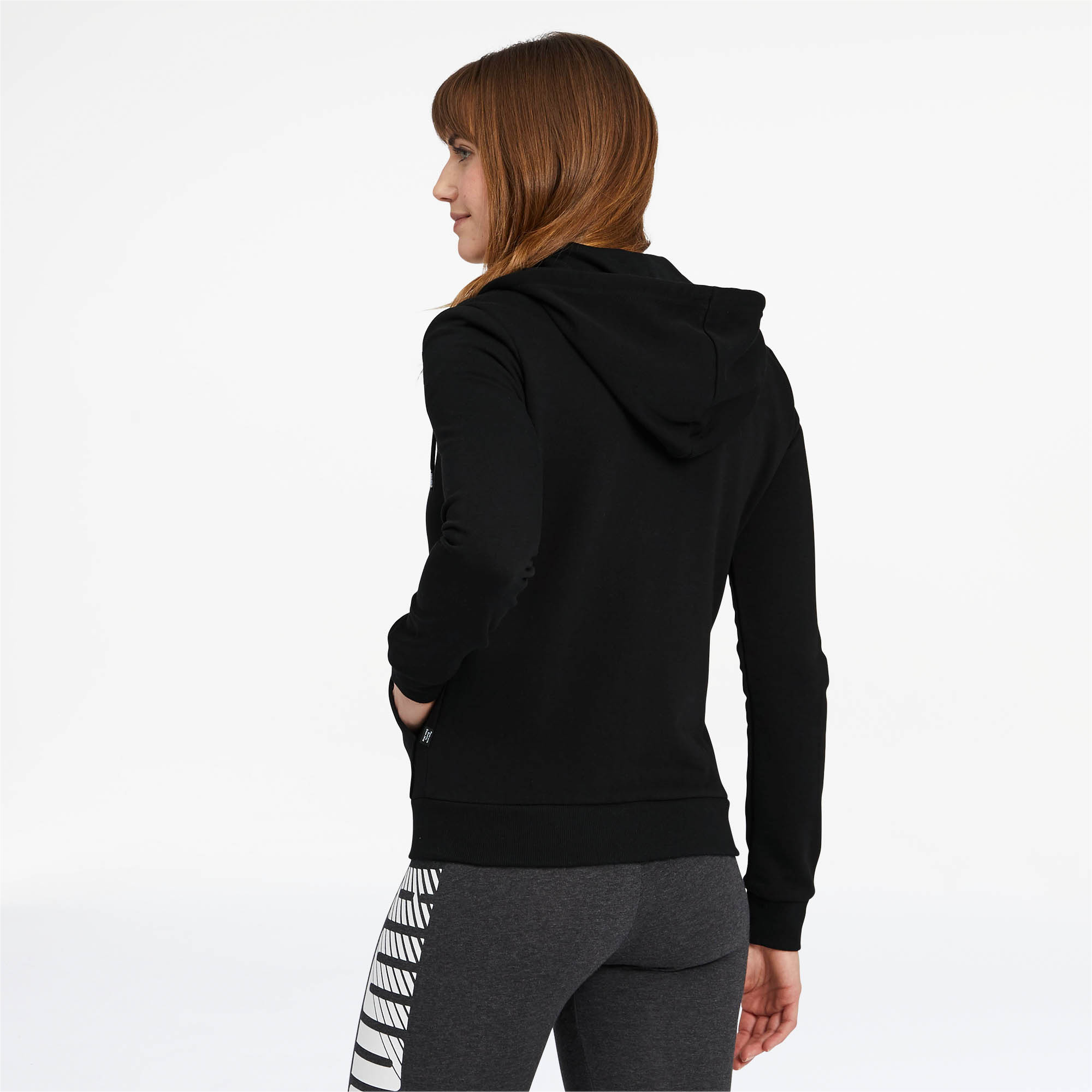PUMA-Women-039-s-Essentials-Hooded-Jacket thumbnail 4