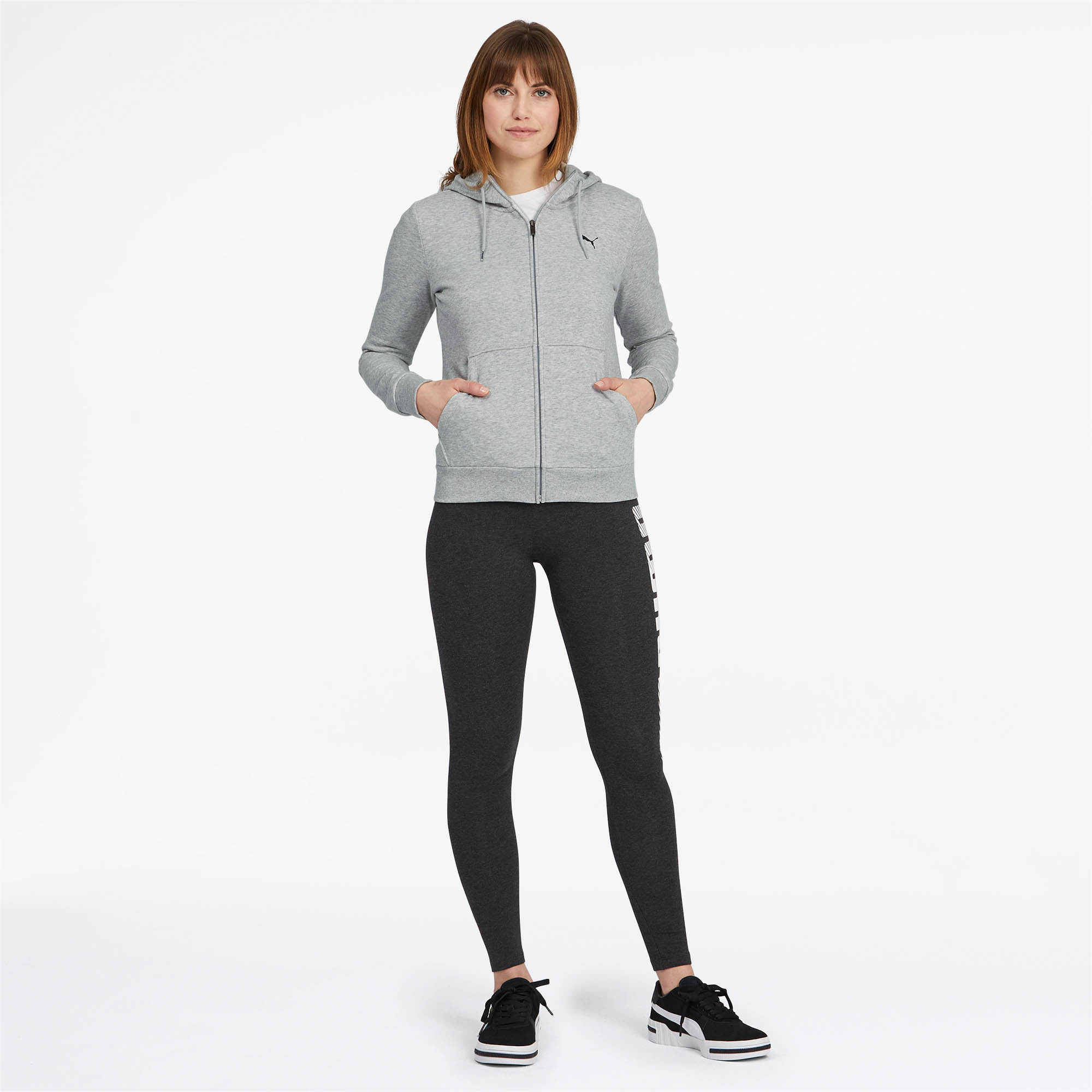 PUMA-Women-039-s-Essentials-Hooded-Jacket thumbnail 13