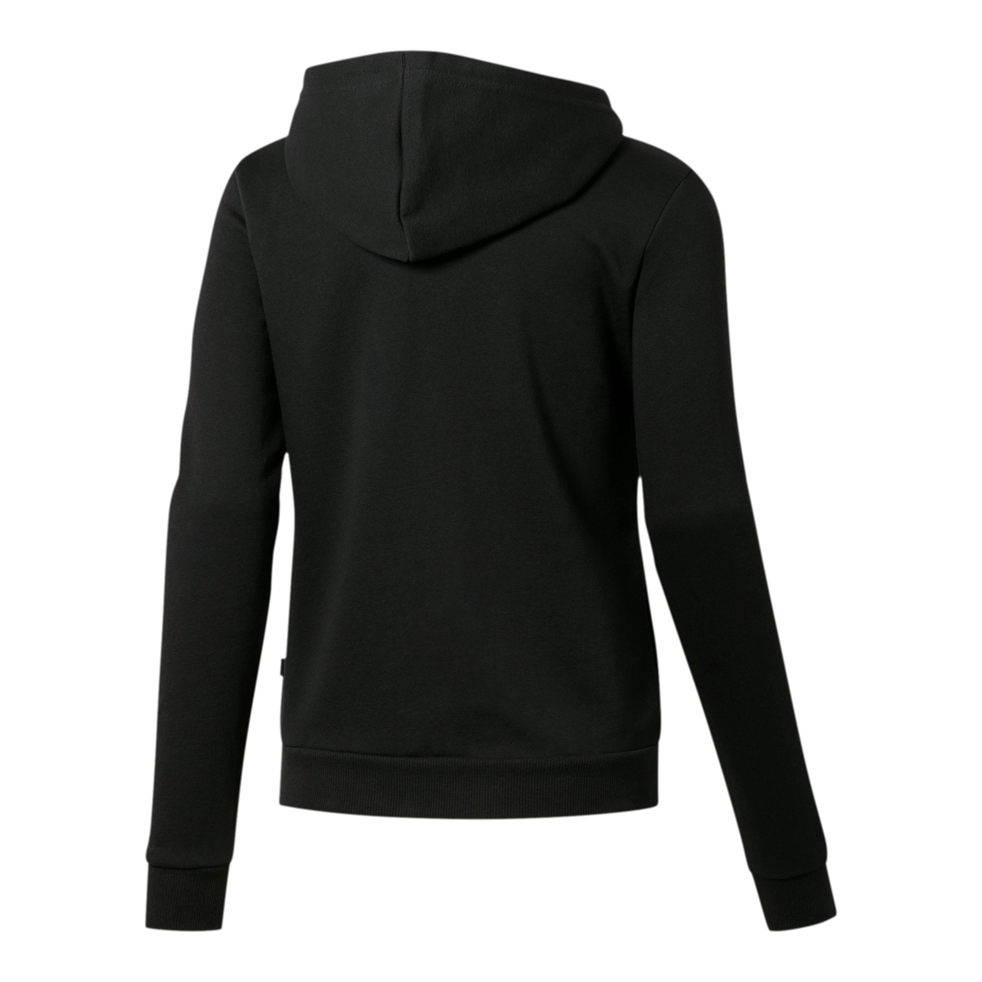 PUMA-Women-039-s-Essential-Fleece-Hooded-Jacket-Women-Sweat-Basics thumbnail 3