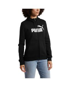 Image Puma Essentials Fleece Hooded Full Zip Women's Sweat Jacket