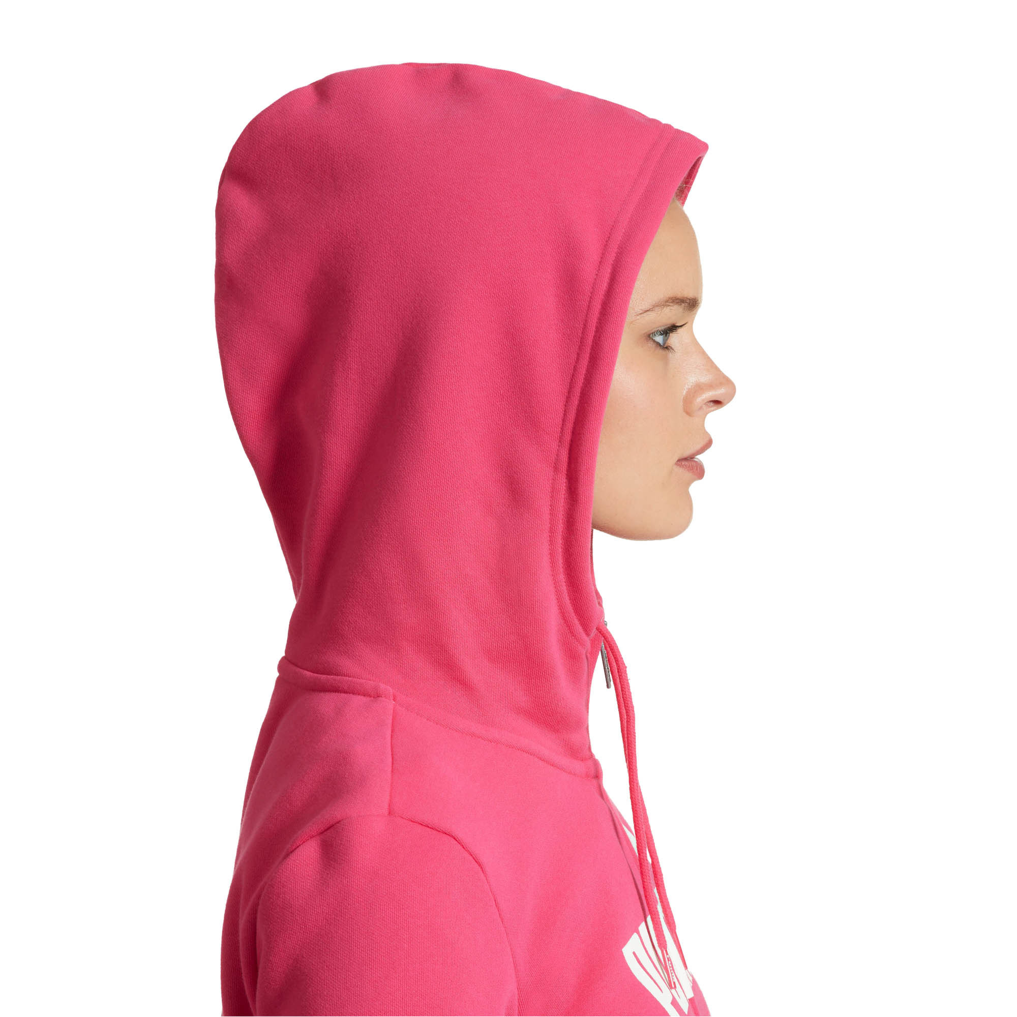 PUMA-Women-039-s-Essential-Fleece-Hooded-Jacket-Women-Sweat-Basics thumbnail 19