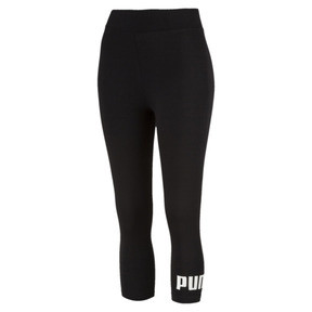 Thumbnail 1 of Essentials 3/4 Women's Leggings, Cotton Black, medium