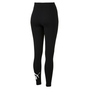 Thumbnail 5 of Damen Essentials Logo Leggings, Cotton Black, medium