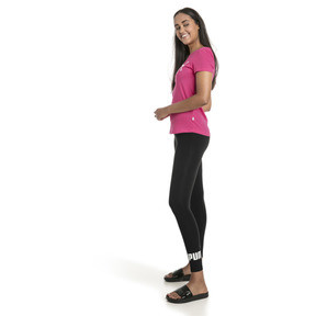 Thumbnail 3 of Women's Essentials Logo Leggings, Cotton Black, medium