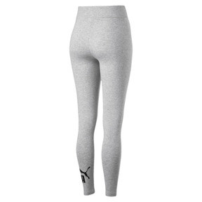 Thumbnail 5 of Women's Essentials Logo Leggings, Light Gray Heather, medium
