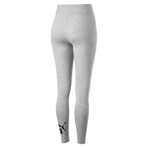 Women's Essentials Logo Leggings, Light Gray Heather, large